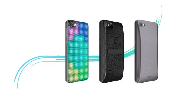 3 mobile devices with different covers