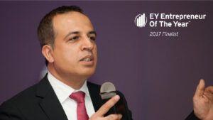Jahan Ali a EY Entrepreneur of the Year 2017 Finalist