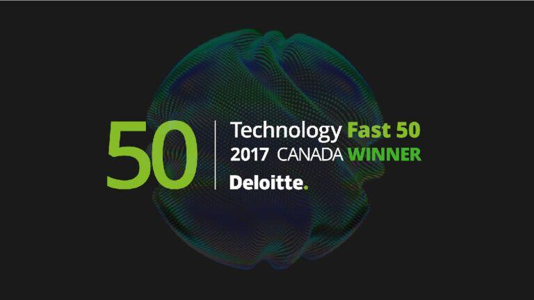 Deloitte Technology Fast 50 2017 Winner Logo
