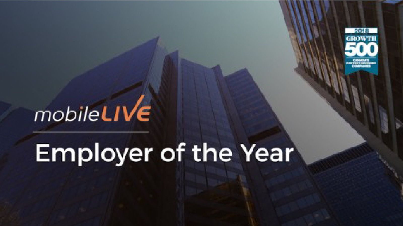 mobileLIVE Employer of the Year