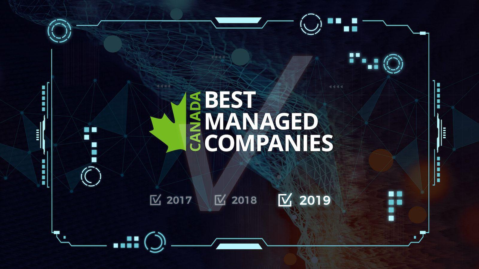 Canada Best Managed Companies award logo 2017-2019