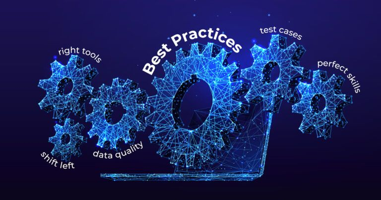 test automation best practices with digital gears