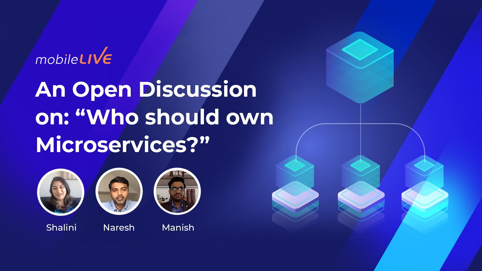 Watch the Who Should Own Microservices discussion video