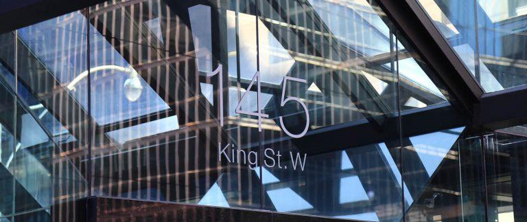 145 King St West building number